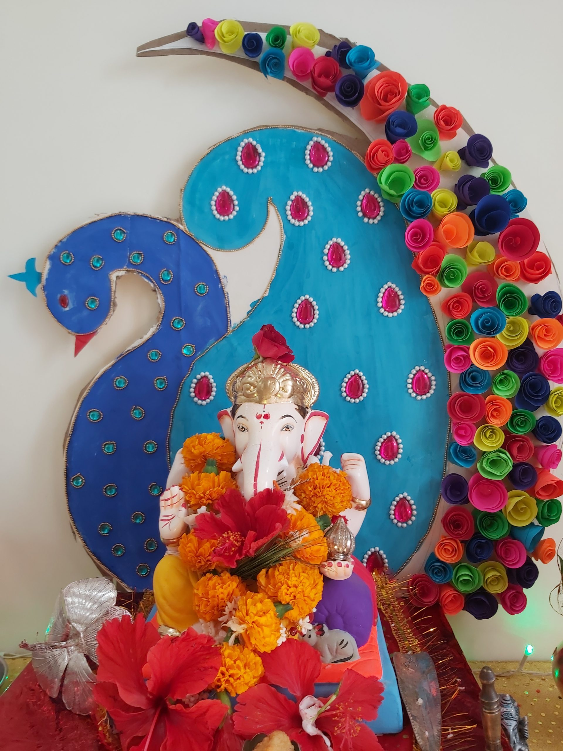 3rd prize winner - shraddha shravagi, lorelle apartment - wakad 2019 - Ganesha Photo Contest 2019 Shraddha Shravagi - 3rd Prize Winner – Shraddha Shravagi, Lorelle Apartment – Wakad 2019