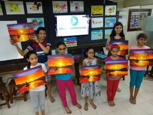 drawing - Grafiti Expression Drawing Art classes for all age group 3 300x225 - Drawing and Painting Classes / Workshops in Wakad – Grafiti Expressions