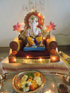 amit bhardwaj's ganesha @ kalpataru splendor, wakad - IMG 20160909 WA0000 1 225x300 - Amit Bhardwaj's Ganesha @ Kalpataru Splendor, Wakad