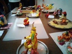 creative ganesha's at apostrophe, wakad - IMG 20150919 193131 1 300x225 - Creative Ganesha's at Apostrophe, Wakad