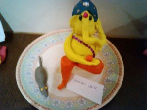 creative ganesha's at apostrophe, wakad - IMG 20150919 193340 300x225 - Creative Ganesha's at Apostrophe, Wakad
