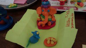 apostrophe clay ganesha's by kids--wakad - IMG 20160904 163253130 300x169 - Apostrophe Clay Ganesha's by kids–Wakad