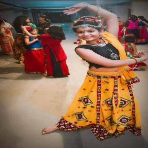 best kids garba costume photo contest 2019 - Ranya Srivastava 2 300x300 - Best Kids Garba Costume Photo Contest – 2019 Wakad