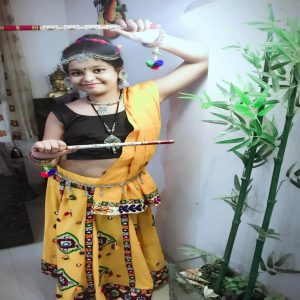best kids garba costume photo contest 2019 - Ranya Srivastava 3 300x300 - Best Kids Garba Costume Photo Contest – 2019 Wakad