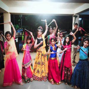 best kids garba costume photo contest 2019 - Ranya Srivastava 4 300x300 - Best Kids Garba Costume Photo Contest – 2019 Wakad