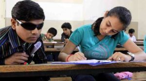Require 45 writers for visually challenged students' exams - blindstudent 300x167 - Require 45 writers for visually challenged students' exams
