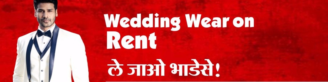 wedding wear on rent