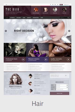 Website Development - hair - Website Development